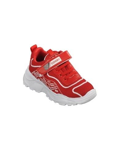Cosby 306 Buz-Pembe Çocuk Spor Ayakkabı Kırmızı